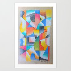TV II Art Print