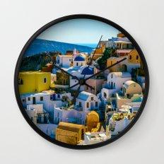 Oia Wall Clock