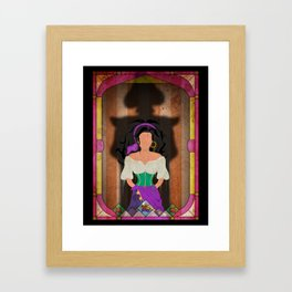 Shadow Collection, Series 1 - Fool Framed Art Print