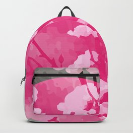Vietnam Peach Blossom Hoa Dao Tet Holiday Backpack