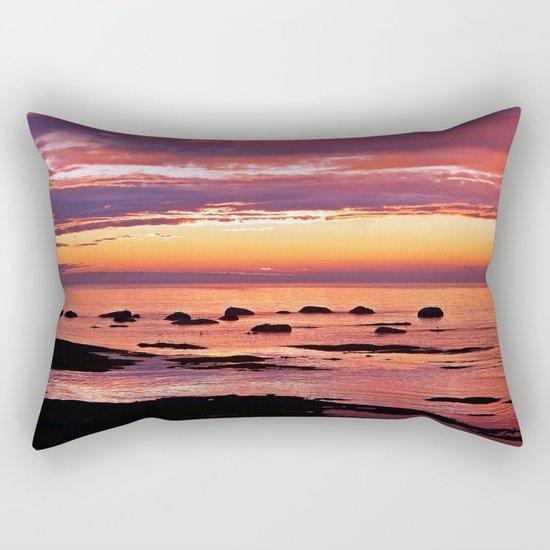 Sainte-Anne-Des-Monts Signature Sunset Rectangular Pillow