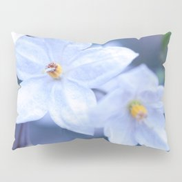 Jasmine Nightshade Flowers #3 #floral #art #society6 Pillow Sham