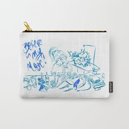 Groomer Magic Turquoise Carry-All Pouch