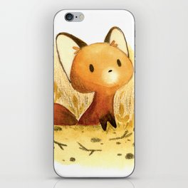 Little fox iPhone Skin