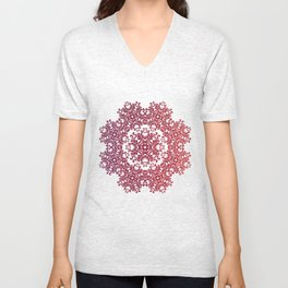 Playing with a lace - dresser from Grandma Unisex V-Neck