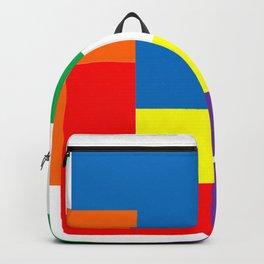 Rainbow Blocks Backpack