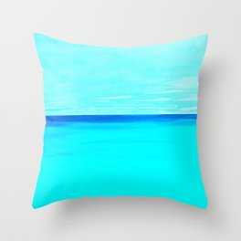 Pacific Memory Throw Pillow