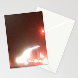 Abstracte Light Art in the Dark 16 Stationery Cards