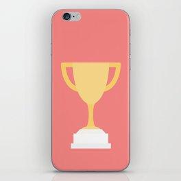 #100 Trophy iPhone Skin