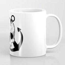 Anchored Jolly Roger Coffee Mug