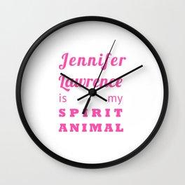 spirit animal Wall Clock