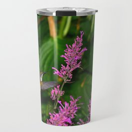 Hummingbird and agastache flower 60 Travel Mug