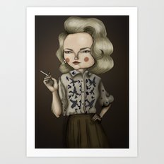 Betty Draper (Mad men) Art Print