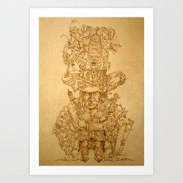SPIRIT OF TRAVEL Art Print