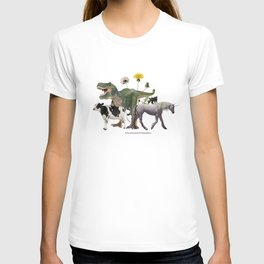 For Belly Dance Students: The Flora and Fauna of Composition T-shirt