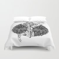 key Duvet Covers featuring Key by cemakyol