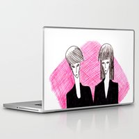 vampire Laptop & iPad Skins featuring Vampire by Luana Rios