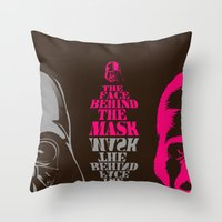 invader zim Throw Pillows featuring inVader by PawixZkid