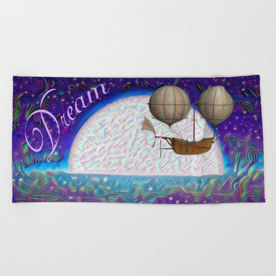 Halcyon Dreams Beach Towel