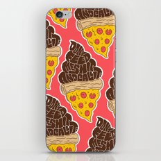 Don't Feed Me Shit and Call it Pizza iPhone & iPod Skin