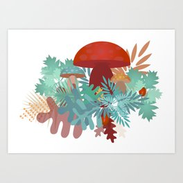 Lovely Forest Art Print