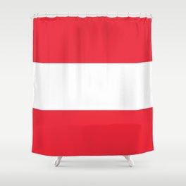 flag of austria -,Österreich,Austrian,Österreicher,Vienna,Salzburg,Mozart, Schoenberg Shower Curtain