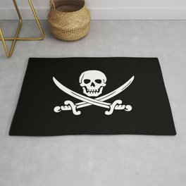 Jolly Roger Pirate Rug