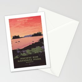 Pacific Rim National Park Reserve Stationery Cards