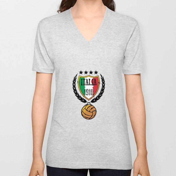 Italia Retro  Unisex V-Neck
