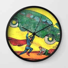 Superman Nº1 Wall Clock