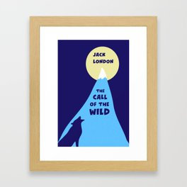 The Call of the Wild - Jack London - Classic Books Framed Art Print