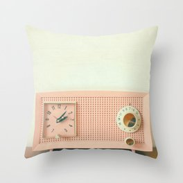 Easy Listening Throw Pillow