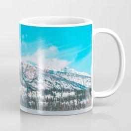 Taggart Lake Winter, Grand Teton National Park Coffee Mug
