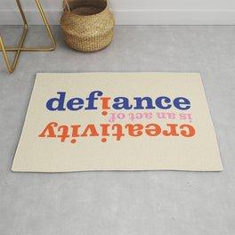 Creative Defiance Rug