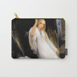 12,000pixel-500dpi - Horace Vernet - Study Of The Angel Of Death - Digital Remastered Edition Carry-All Pouch