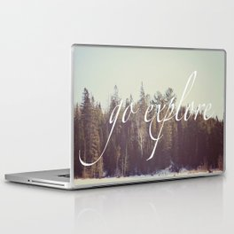 Go Explore  Laptop & iPad Skin