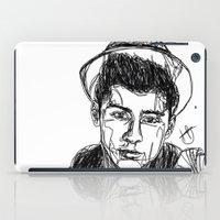zayn iPad Cases featuring Zayn Malik by Hollie B