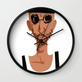 léon the professional Wall Clock