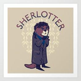 Sherlotter Art Print