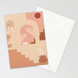 Desert Patio Stationery Cards