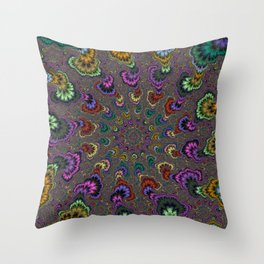 Fractal Abstract 41 Throw Pillow