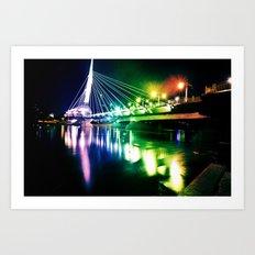 Provencher Bridge Art Print