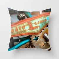 orphan black Throw Pillows featuring The Orphan by sarah mah