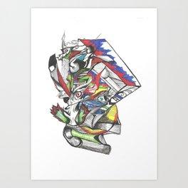 (...) Art Print