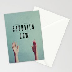 Serenity Now! Stationery Cards