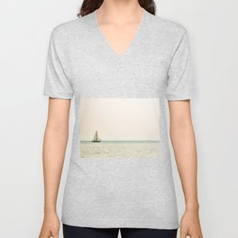 Sailboat and Boon Unisex V-Neck