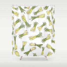 Lemongrass Shower Curtain