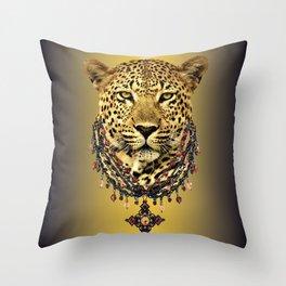 Wild Splendor Throw Pillow
