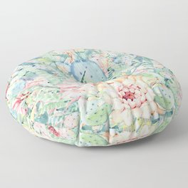 give me pastels Floor Pillow