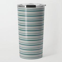 Benjamin Moore 2019 Color Beau Green on Color of the Year 2019 Metropolitan Horizontal Stripes Travel Mug